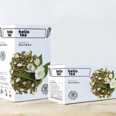 Чай hello tea зеленый Жасминовая Мечта 20 фильтр-пакетов 40 г