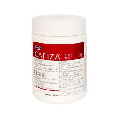 Таблетки Urnex Cafiza E31 для чистки кофейной системы автоматических кофемашин 100 шт