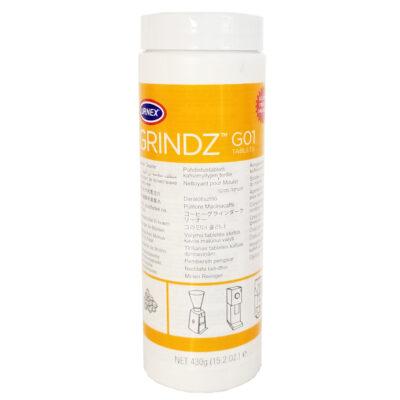 Таблетки Urnex Grindz G01 для чистки кофемолок 430 г