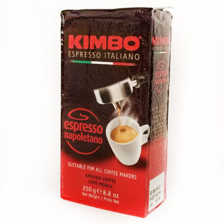 Кофе KIMBO ESPRESSO NAPOLETANO молотый 250 г