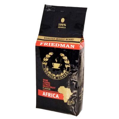 Кофе FRIEDMAN AFRICA в зернах 453 г