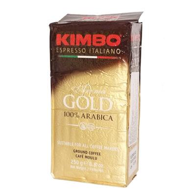 Кофе KIMBO Aroma Gold 100% Arabica молотый 250 г