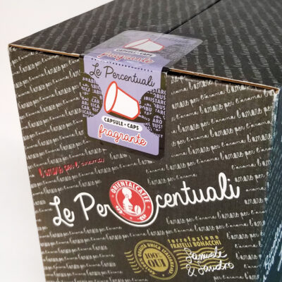 Кофе ORIENTALCAFFE Le Percentuali fragrante в капсулах «Nespresso» 50 шт
