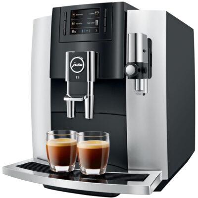 Кофемашина эспрессо JURA E8 Platin