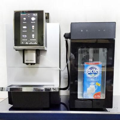 Кофемашина DR.COFFEE F12 Plus с холодильником