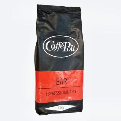 Кофе Caffe Poli Bar в зернах 1 кг