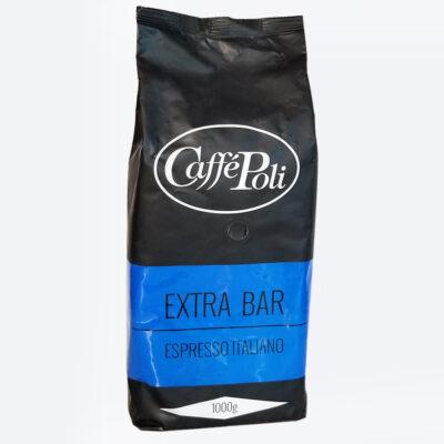 Кофе Caffe Poli Extra Bar в зернах 1 кг