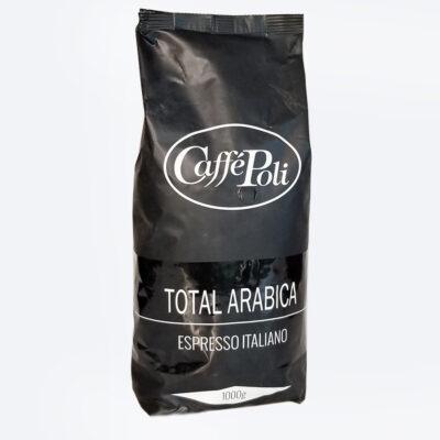 Кофе Caffe Poli Total Arabica в зернах 1 кг