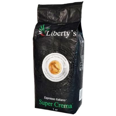 Кофе Liberty`s Super Crema в зернах 1 кг