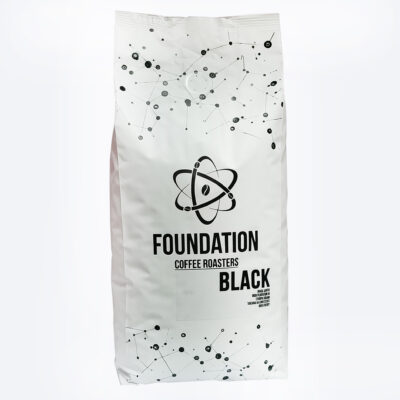 Кофе FOUNDATION COFFEE ROASTERS BLACK в зернах 1 кг