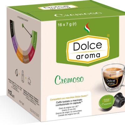 Кофе Dolce Aroma Cremoso в капсулах Dolce Gusto 7 г х 16 шт