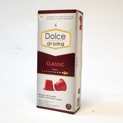 Кофе Dolce Aroma Classic в капсулах Nespresso 5 г х 10 шт