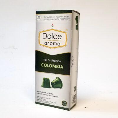 Кофе Dolce Aroma Colombia в капсулах Nespresso 5 г х 10 шт