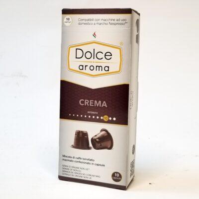 Кофе Dolce Aroma Crema в капсулах Nespresso 5 г х 10 шт