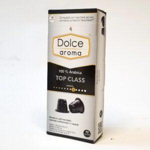 Кофе Dolce Aroma Top Class в капсулах Nespresso 5 г х 10 шт