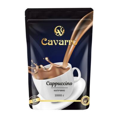 Напиток Cavarro Cappuccino сухой растворимый 1 кг