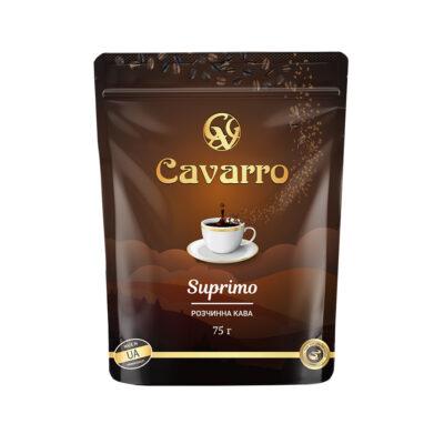 Кофе Cavarro Suprimo растворимый 75 г
