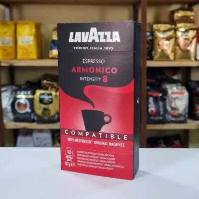 Кофе Lavazza Amonico в капсулах Nespresso 5 г х 10 шт