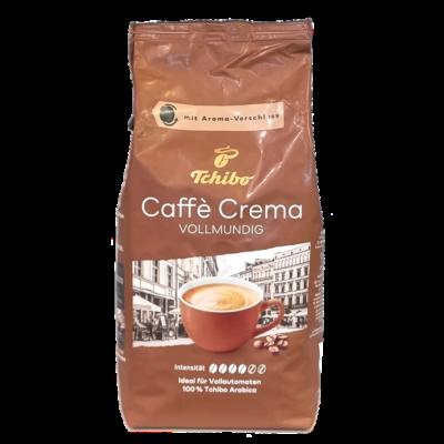 Кофе Tchibo Caffe Crema в зернах 1 кг