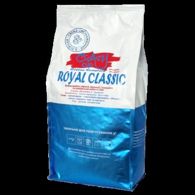 Кофе Crazy Cup Royal Classic в зернах 1 кг